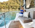 Riviera 57 Enclosed Flybridge:Flybridge Rear Deck