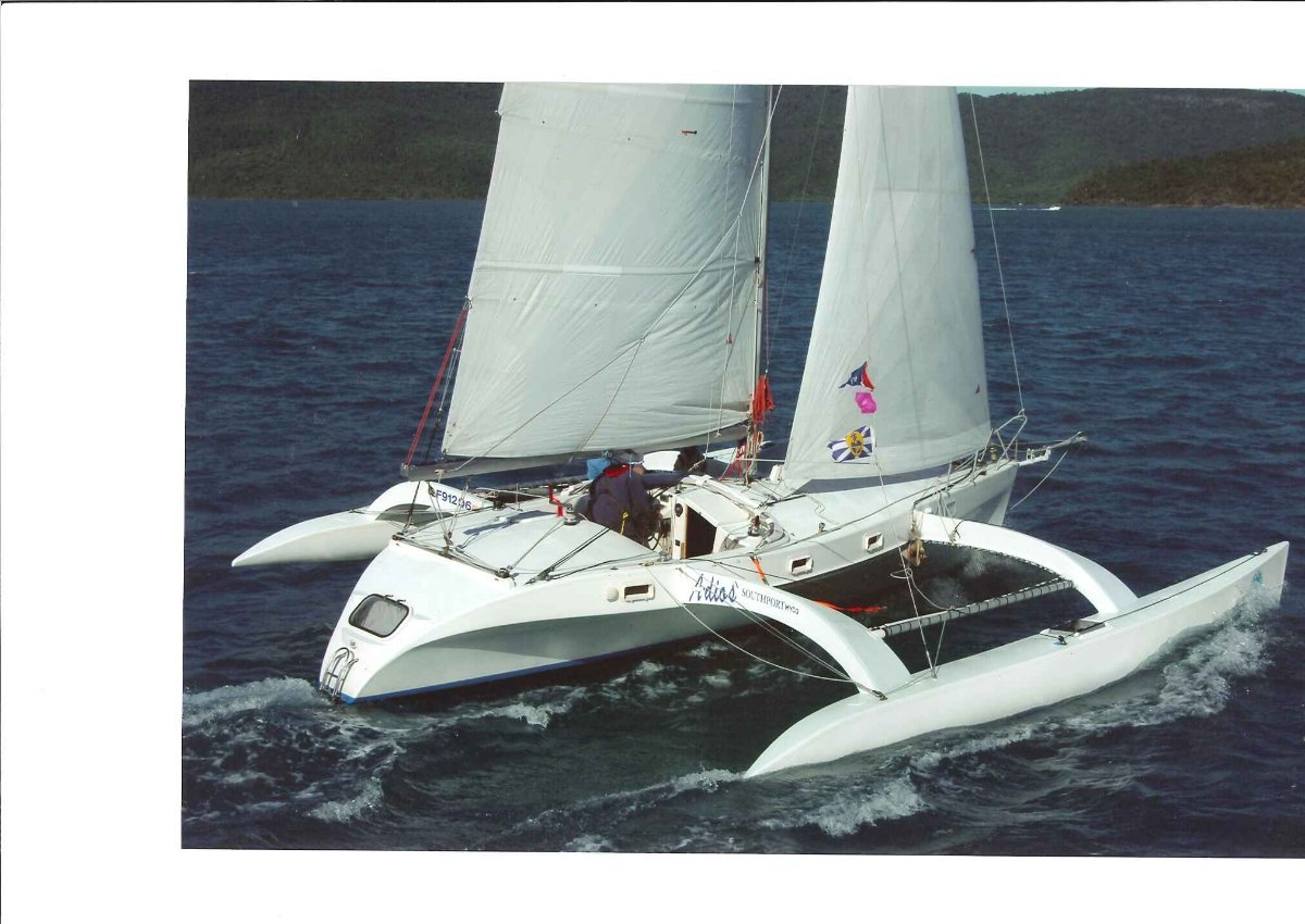 Burgess Sail Trimaran