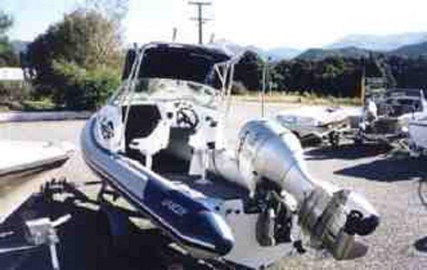 Lancer RD 600 Rib Deep Vee - Cuddy Cabin