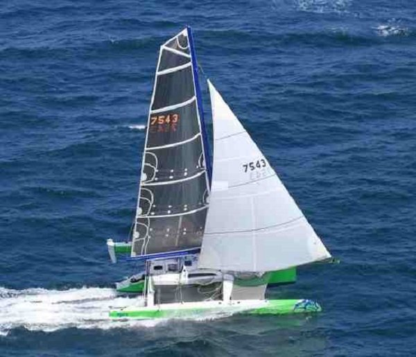 Exciting Race Winning 10.6m Trimaran