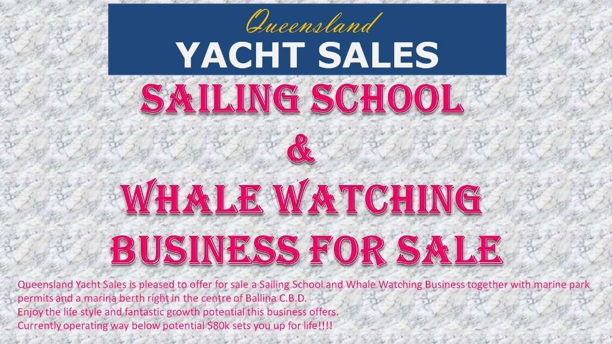 Sailing School & Whale Watching Business, Marine Park Permits