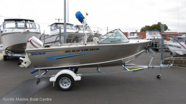 Savage 415 Bay Cruiser