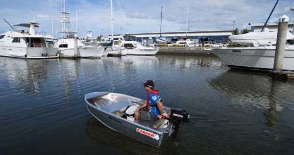 New Stacer 249 Proline Short Shaft Tinnie/Dinghy Hull Only