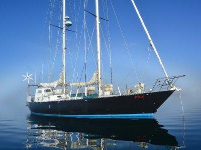Damien II steel schooner