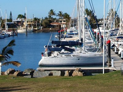 Entire T head 28M long berth, (2 titles) for Sale At The Mooloolaba Marina