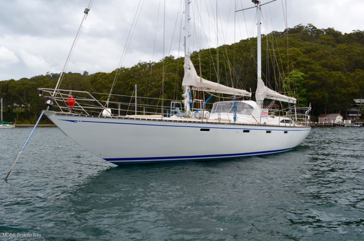 Roper 57 Schooner Blue water passagemaker