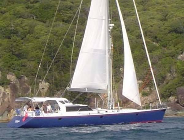 19.8m Cruising sloop