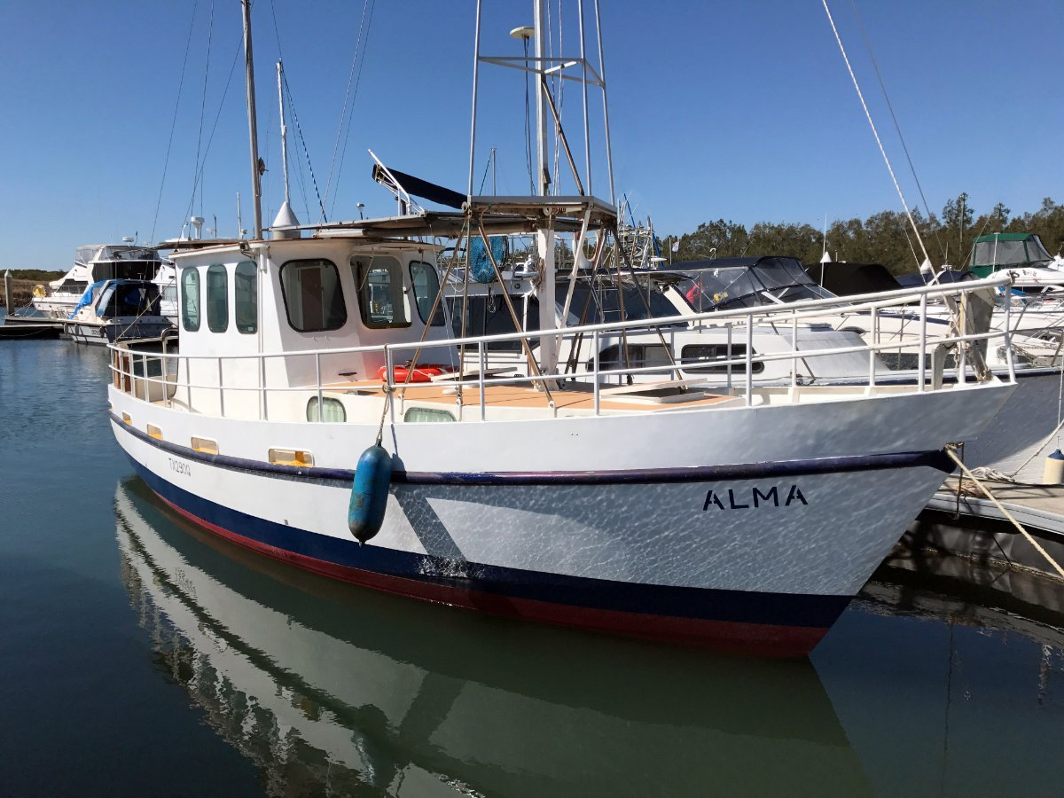 Build A Boat Company Steel Motor Sailer - Coastal Cruiser