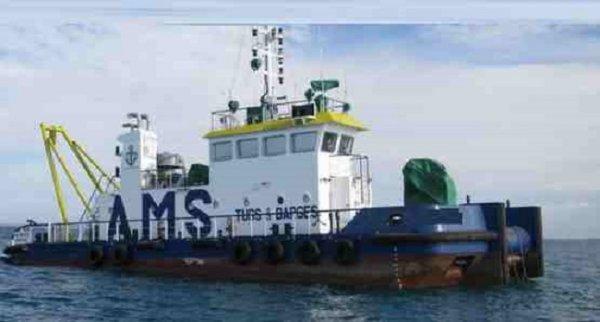 28m Shallow Draft Workboat