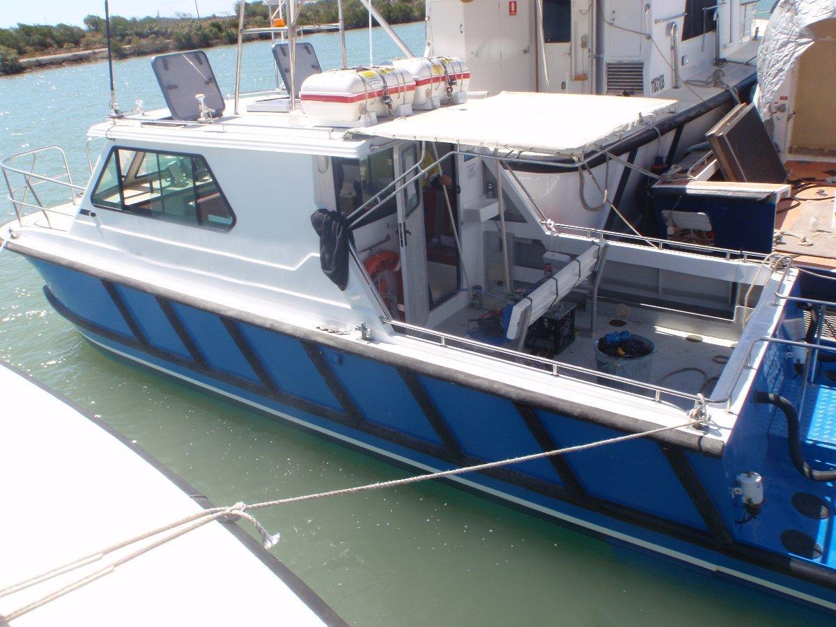 8.8m Crew Vessel
