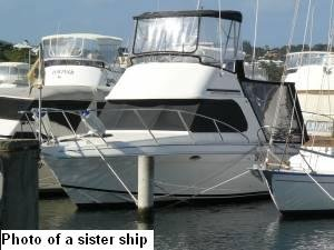 Fraser 31 Flybridge:This is a sistership picture