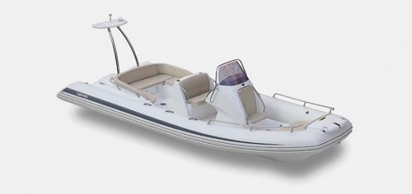 Grand Golden Line Hypalon Cruiser 6.5m Deluxe