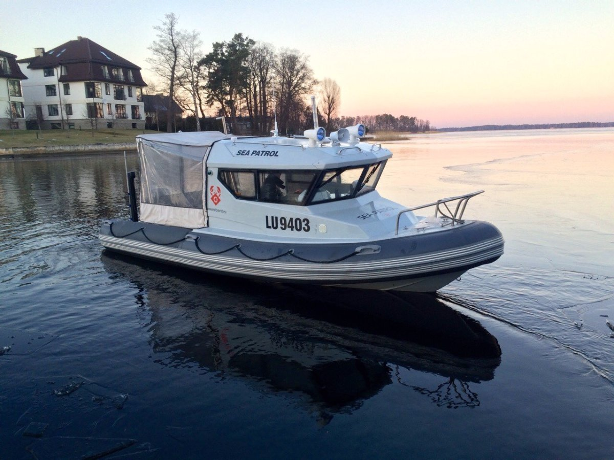 Sea Patrol 630 6.45m Versatile RIB