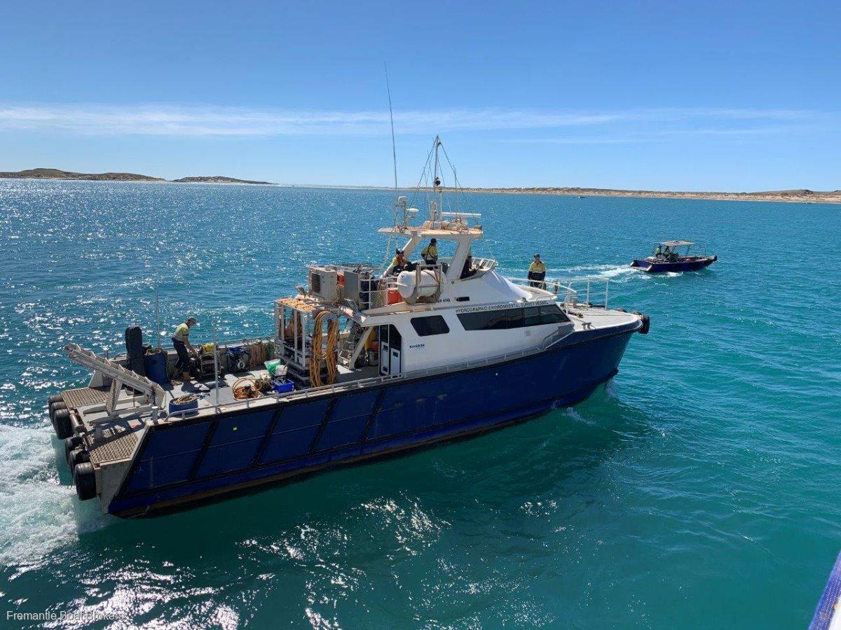 Gavin Mair Charter Aluminium Catamaran