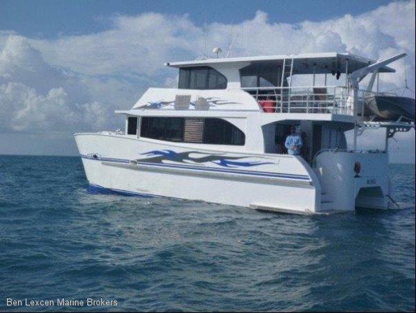 Catamaran Custom Aluminium