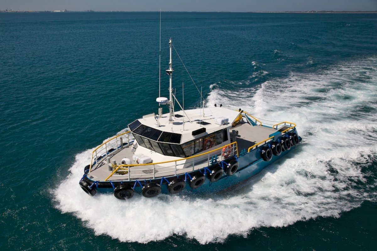 15.5m Workboat Available for Charter