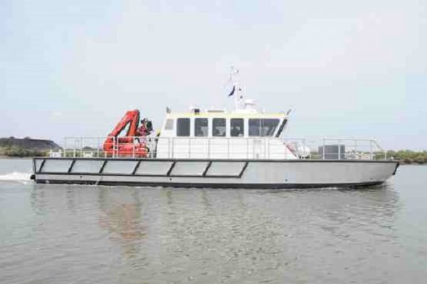 New 17m Shallow Draft Workboat