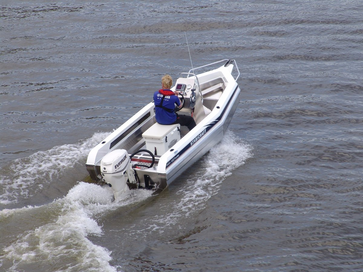 New stabicraft 1410 frontier yamaha 40hp four stroke for Yamaha motor boats for sale