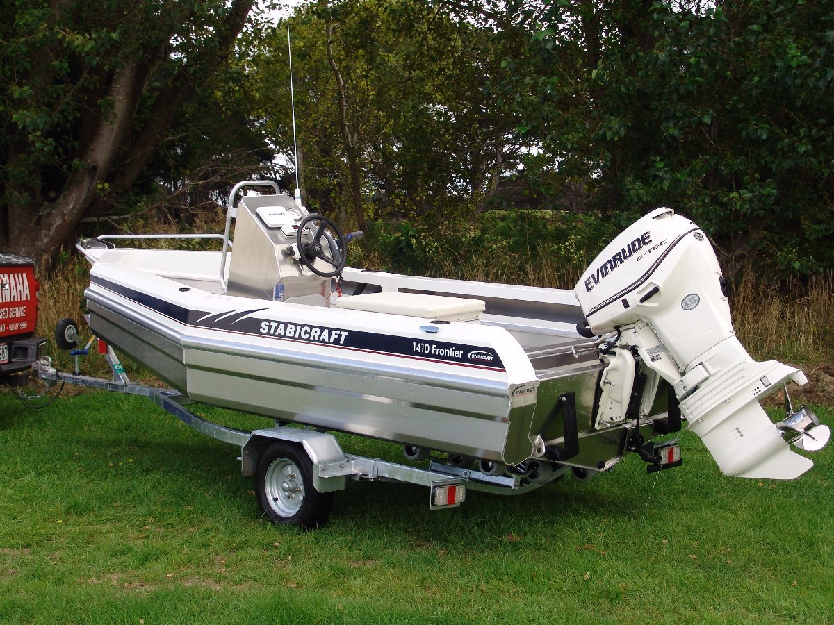 Stabicraft 1410 Frontier + Yamaha 40hp Four Stroke Outboard Motor