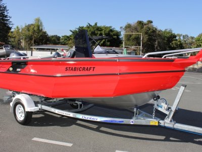 New Stabicraft 1600 Frontier + Yamaha 60hp Four Stroke Outboard Motor