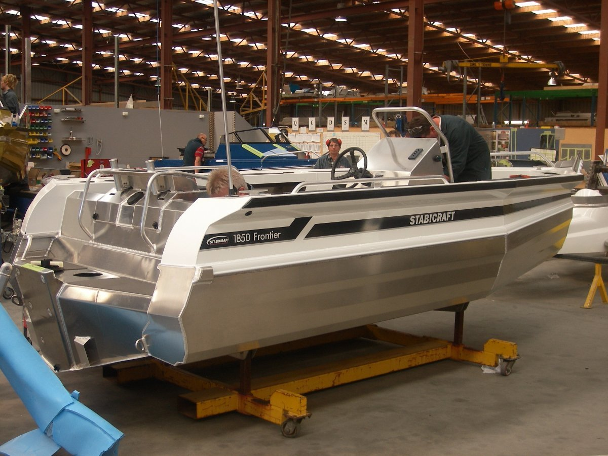Stabicraft 1850 Frontier + Yamaha 115hp Four Stroke Outboard Motor