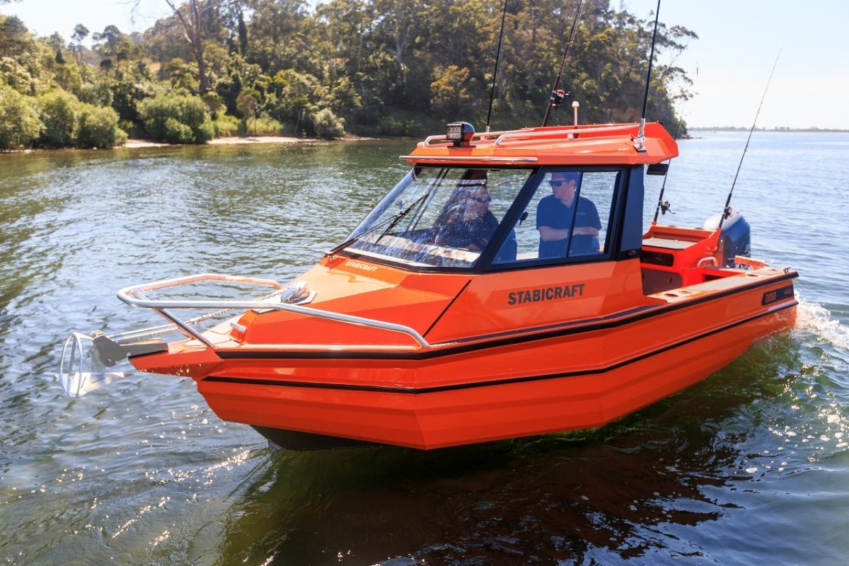 Stabicraft 2050 Supercab + Yamaha 150hp Four Stroke Outboard Motor