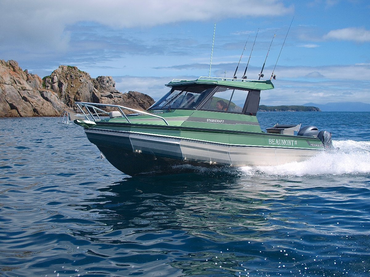 Stabicraft 2400 Supercab + Yamaha 225hp Four Stroke Outboard Motor