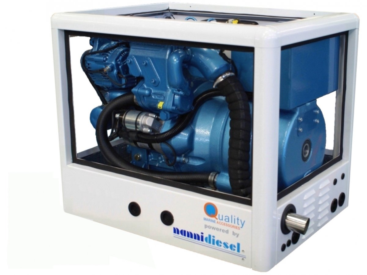 MARINE AND INDUSTRIAL GENSETS