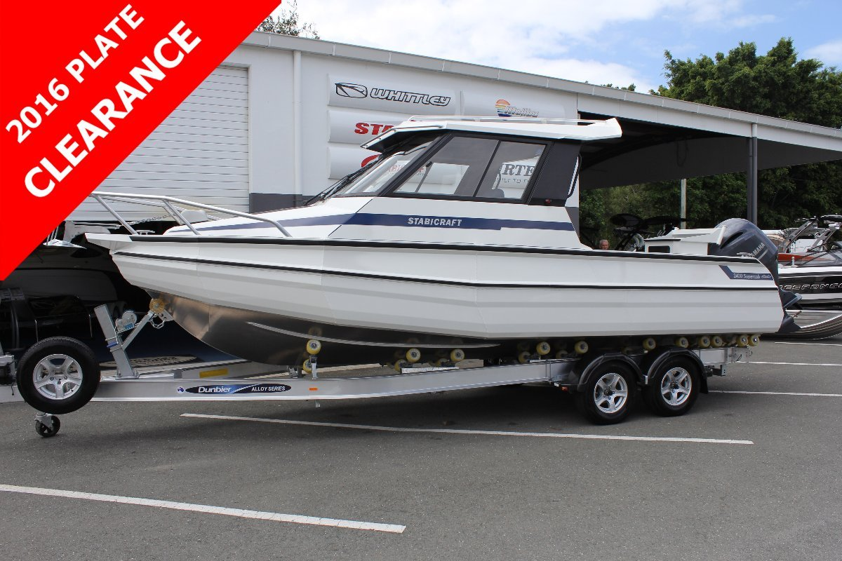 Stabicraft 2400 Supercab + Yamaha 200hp Four Stroke Outboard Motor