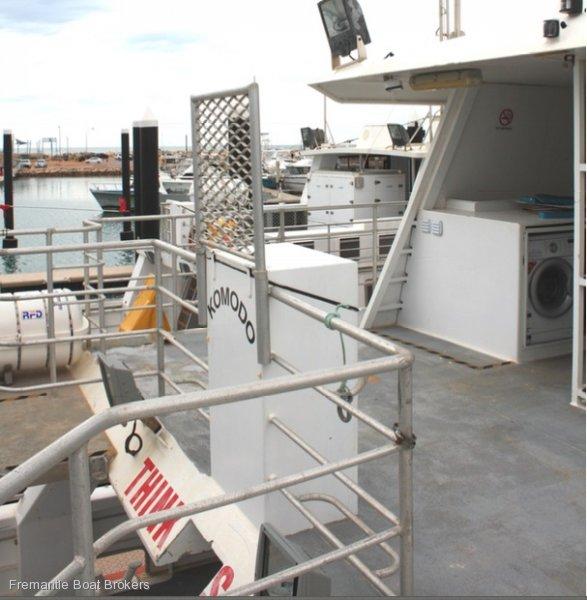 Batavia Boat Builders Aluminium Catamaran