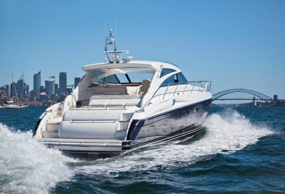 Princess V58 The only hardtop version available in AUS!