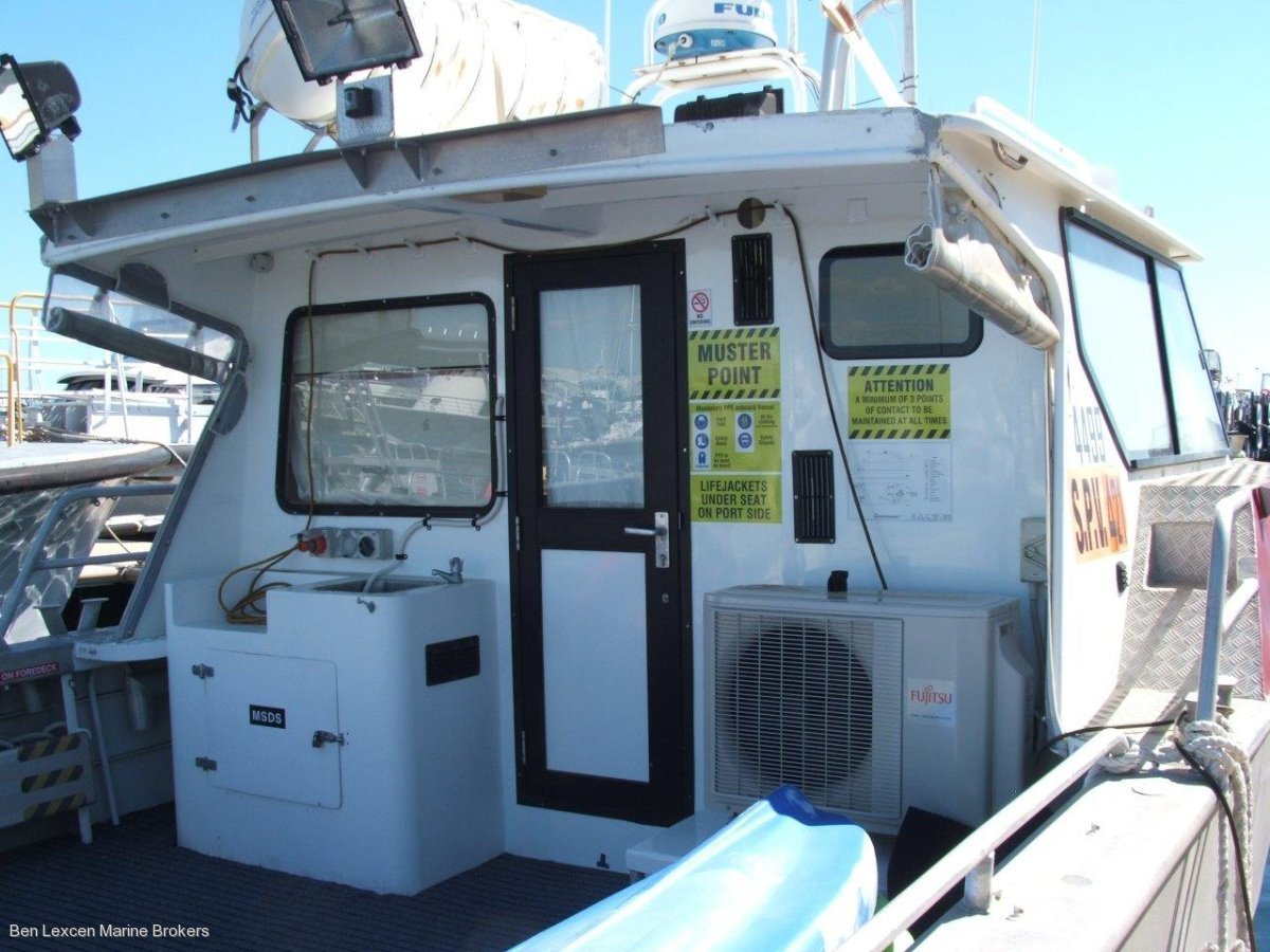 Seaquest Charter/Crew Supply Alumiium Utility Vessel BUSINESS