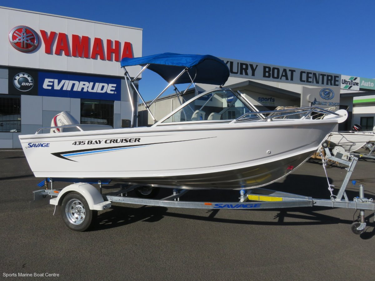 Savage 435 Bay Cruiser:TOUGH PLATE ALUMINIUM