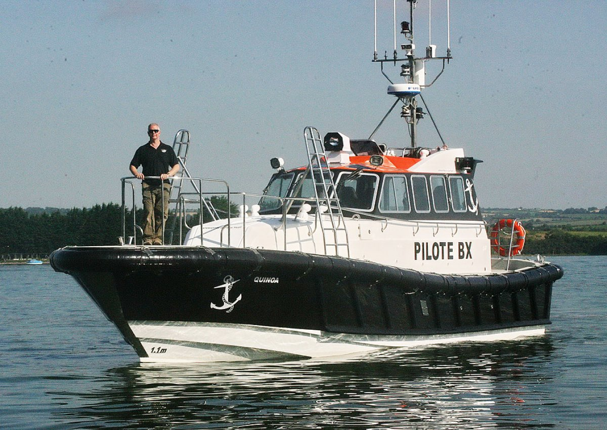 Safehaven Interceptor 48 Pilot