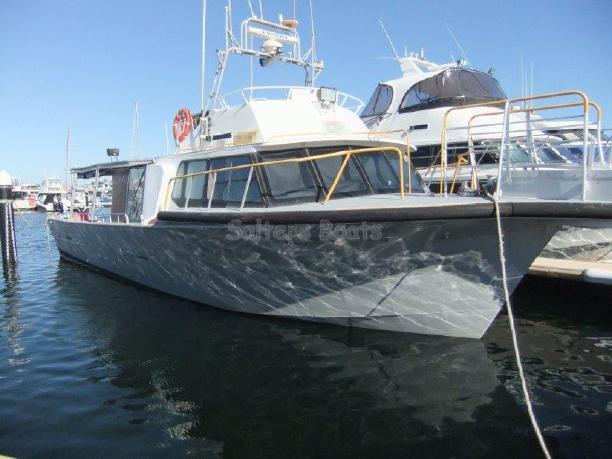 Gbb Aluminium Charter 55': Commercial Vessel | Boats Online for Sale | Aluminium | Western ...