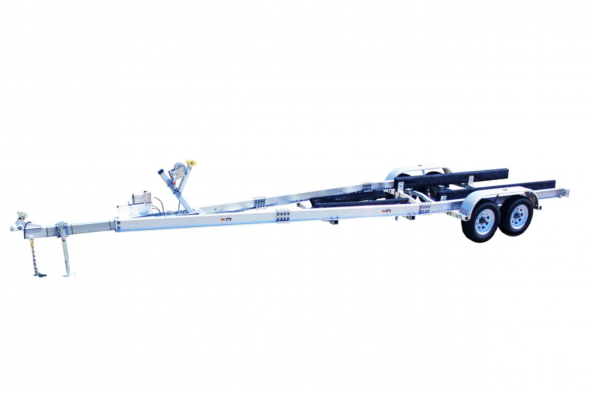 4.5 TON ALLOY TRAILER DUAL AXLE - NSW
