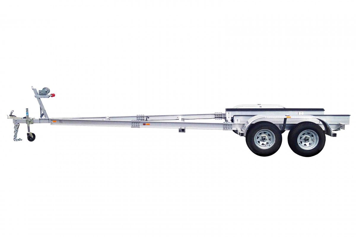 2 TON TRAILER ALLOY DUAL AXLE - NSW