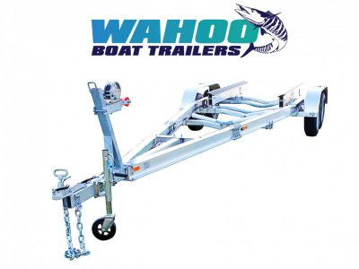 2 TON ALLOY BOAT TRAILER DUAL AXLE - QLD