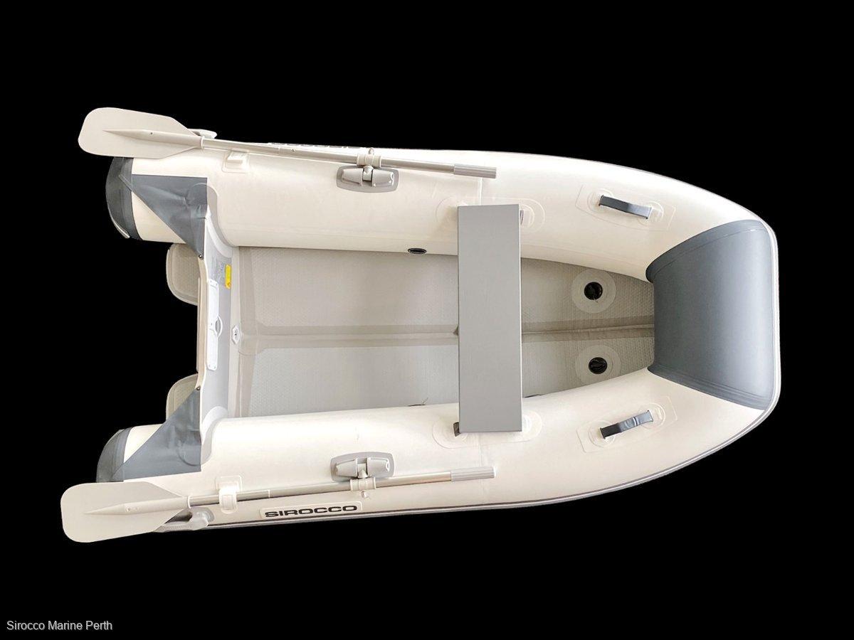 Sirocco Air Hull 220 2.2m Air V hull Inflatable tender