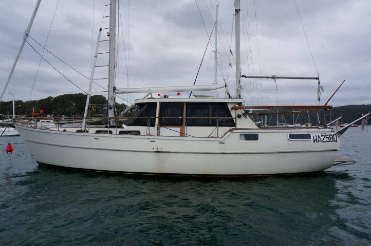 Nauticat 38 Pilothouse Ketch