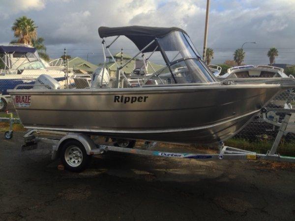 Bluefin Ripper BLUEFIN 4.5MTR RIPPER BOAT