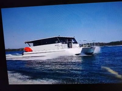 Powercat Cav Cat Custom Cruising Catamaran