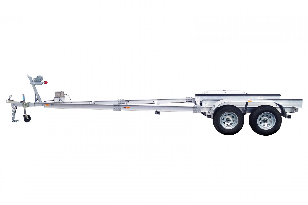 3.2 TON TRAILER ALLOY DUAL AXLE - QLD