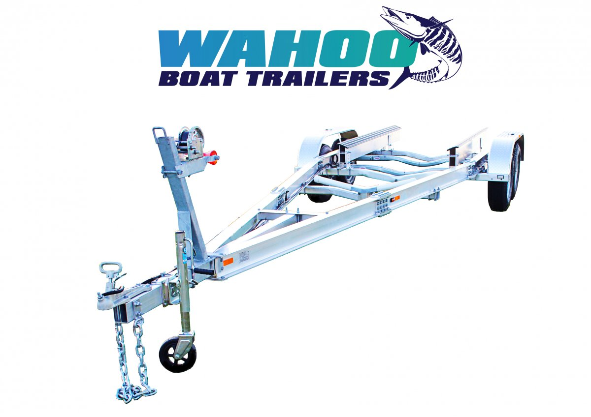 2 TON ALLOY BOAT TRAILER DUAL AXLE - NORTHERN TERRITORY