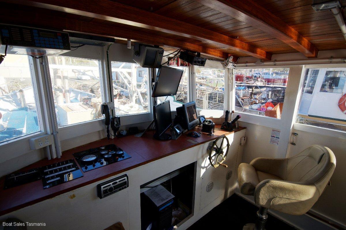 """Wilson Brothers Tasmanian Cray Boat """"Truganini"""""""