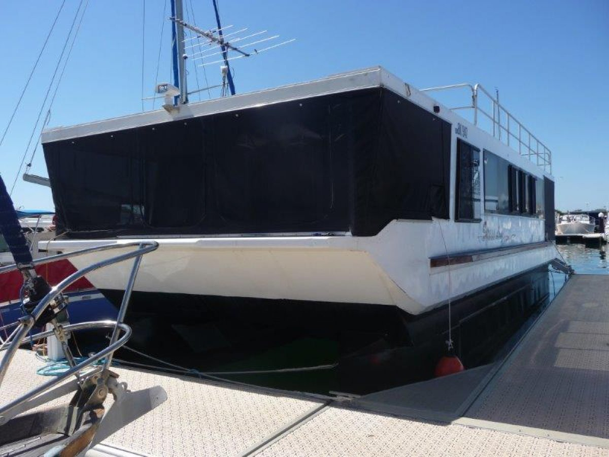 50FT Custom Houseboat