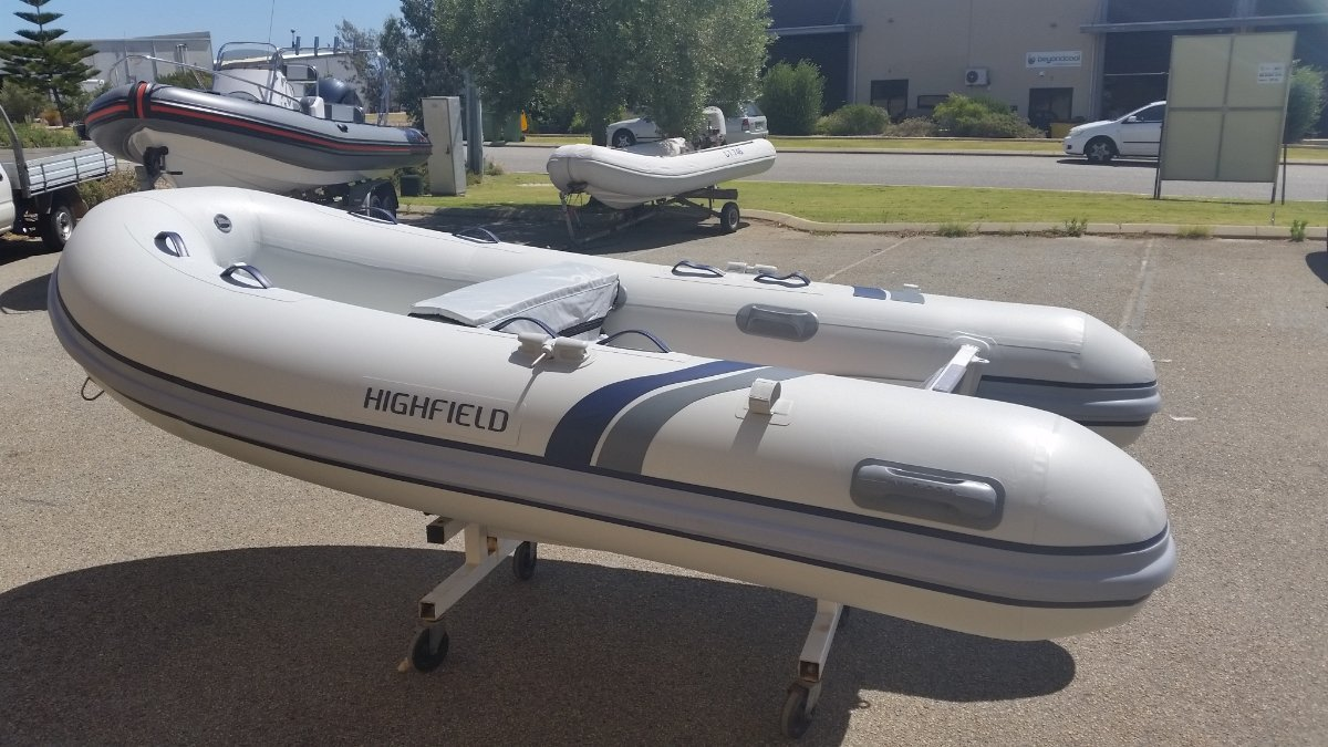 Highfield Classic 310 Aluminium inflatable