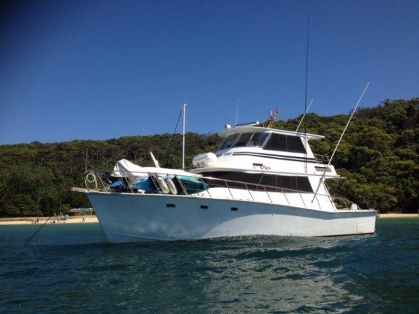Custom Timber Charter Motor Yacht:Geoff Lovett Int_CustomTimber_Flinders ReeGeoff Lovett International_51 timber charter MY_