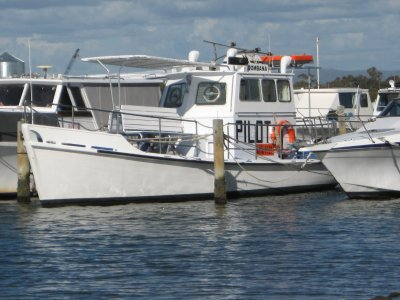 Custom Craft 35 Ex Pilot Vessel