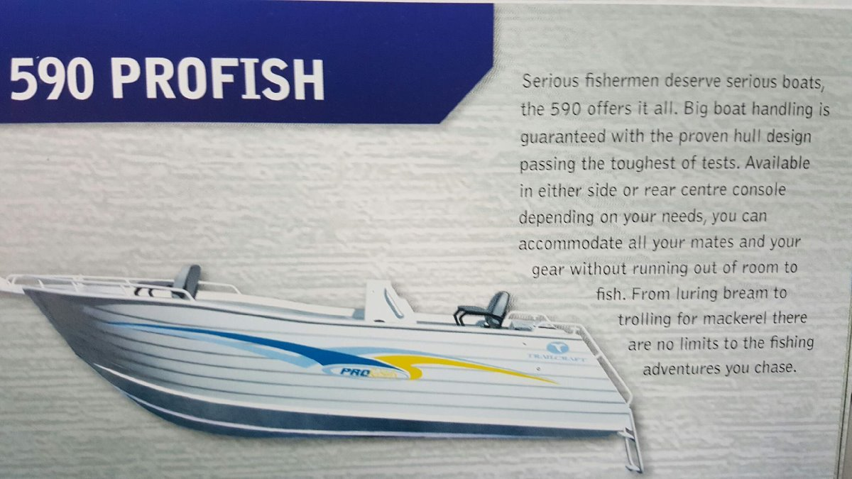 Trailcraft 590 Profish